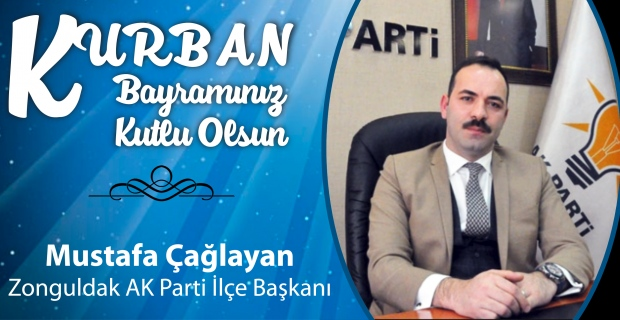 Mustafa Çağlayan Kurban Bayramı'nı kutladı