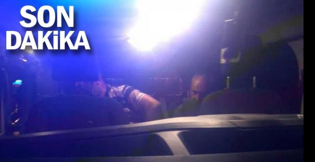 Patrondan mazot çalan şoförlere suç üstü...
