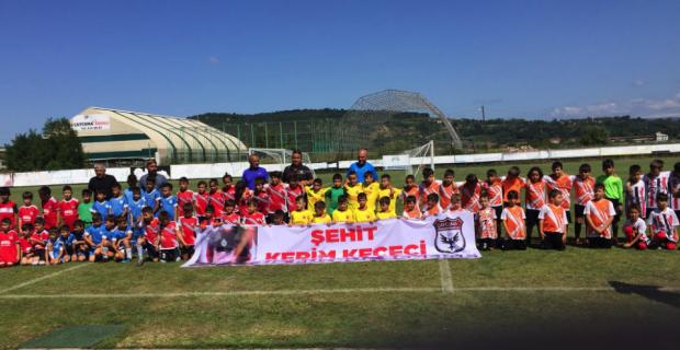 Şehit Kerim Keçeci anısına futbol turnuvası