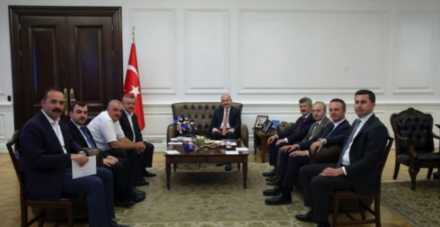 Süleyman Soylu'ya Zonguldak çıkarması