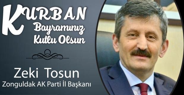 Zeki Tosun Kurban Bayramı'nı kutladı