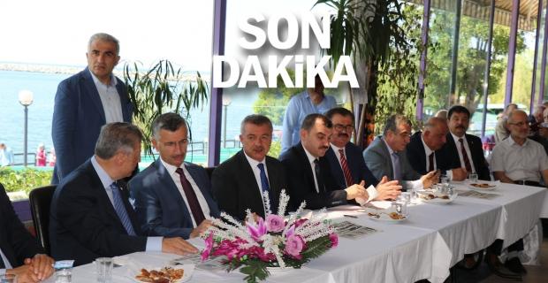 Zonguldak'ta protokol bayramlaştı