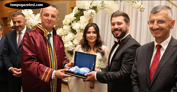 Ali Uzun, oğlu Serkan'ı evlendirdi...