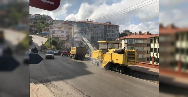 Asfalt çalışmaları o mahallelerde de başladı…