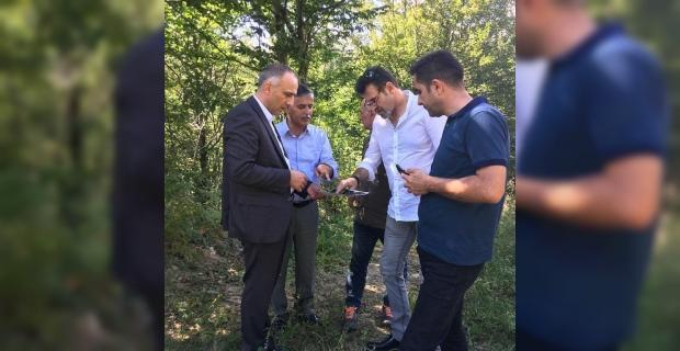 Başkan Demir ve tekstilciler Elvanpazarcık'ta…