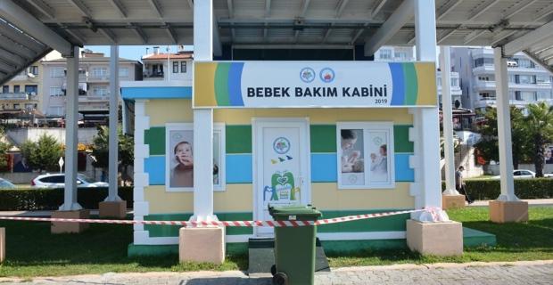 Ereğli Belediyesi bunu da gerçekleştirdi. Bebek emzirme kabini…