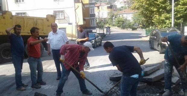 Gülüç Belediyesi selin yaralarını sarıyor...