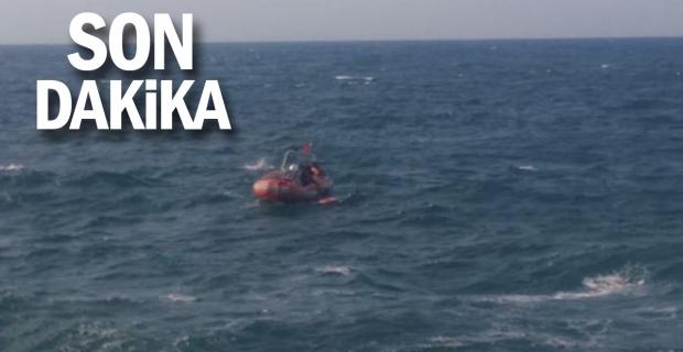 Sahil Güvenlik ekibi, boğulma tehlikesi geçiren 2 kişiyi kurtardı