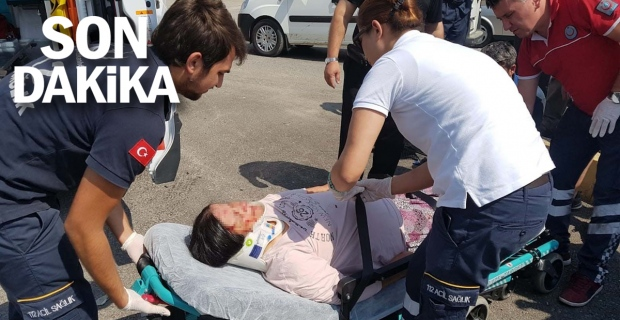 Sanayi Kavşağı'nda kaza: 3 yaralı var