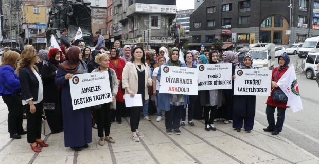 STK'lardan Diyarbakırlı Annelere destek