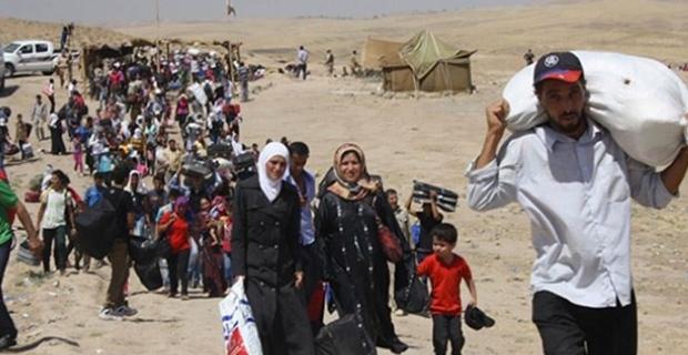 Suriyeliler ülkelerine dönüyor…
