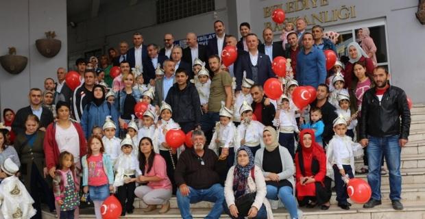 Zonguldak Belediyesi 48 çocuğu sünnet ettirdi…