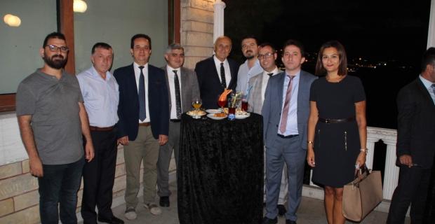 Zonguldak'ta adli yıl açılış kokteyli gerçekleşti