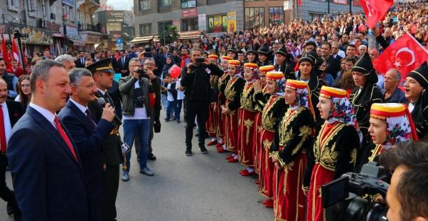 Alan, Zonguldak'a teşekkür etti