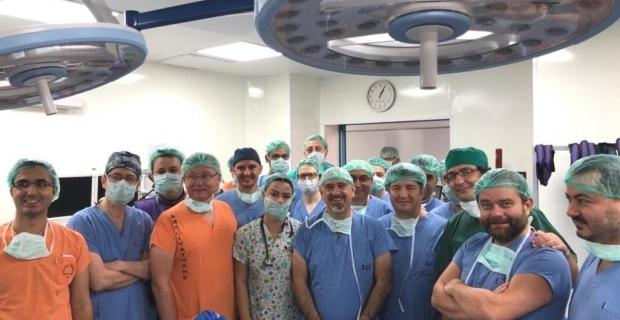 BEÜ'de Retrograd İntrarenal cerrahi kursu gerçekleştirildi