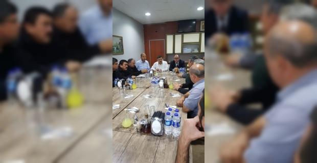 Çaycuma'da çiğ süt toplayan esnafla toplantı yapıldı