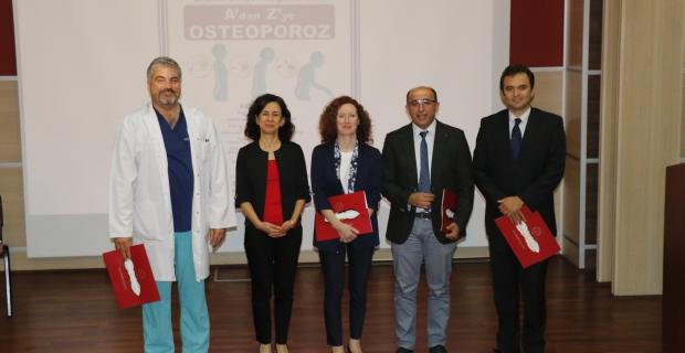 """""""Dünya Osteoporoz Günü"""" farkındalık etkinliği yapıldı"""