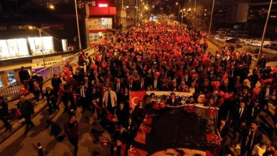 Fener Alayına 5 bin kişi katıldı...