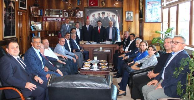 İl Genel Meclisi AK Parti Grubu, GMİS'i ziyaret etti