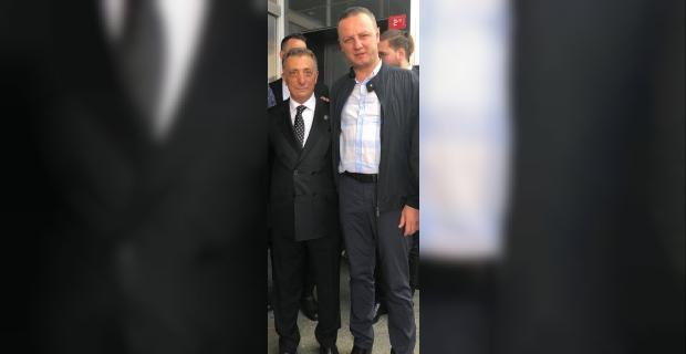 Koyu Beşiktaş'lı Başkan Alan, yeni Başkan  Çebi'yi tebrik etti...