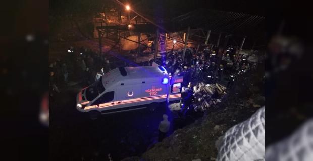 Madende göçük, 1 kişi hayatını kaybetti...