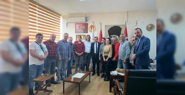 Milletvekili Çolakoğlu, basın masasının konuğu oldu