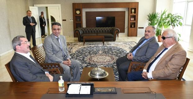 Posbıyık'tan Başkan Vergili'ye ziyaret