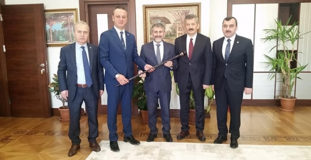 Zonguldak'ın yatırımları hakkında görüştüler!..