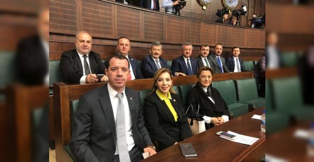 Zonguldaklı AK Parti  kurmayları TBMM'de…
