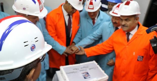 150 milyonluk yatırımla 3,5 milyonluk üretim hedefi için önemli bir adım daha attı