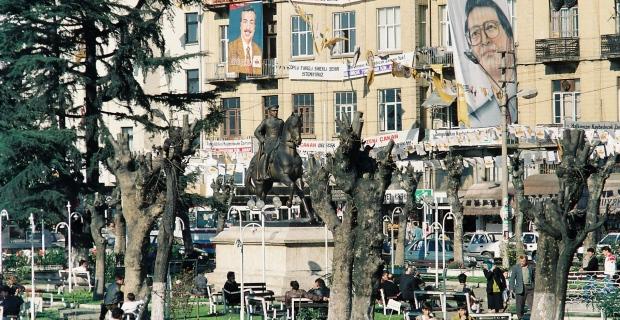 1984 ve 1995 yılları Zonguldak....