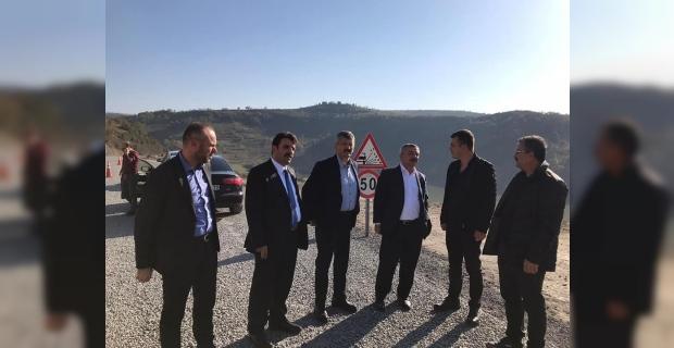 AK Parti Milletvekili Türkmen Ereğli-Devrek Yolu'nu inceledi