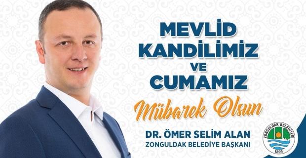 Başkan Alan, Tüm İslam Âlemi'nin Mevlid Kandilini kutladı
