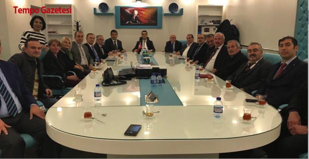 Batı Karadeniz Birliği Ceza İşleri Genel Müdürü Moğul'u ziyaret etti