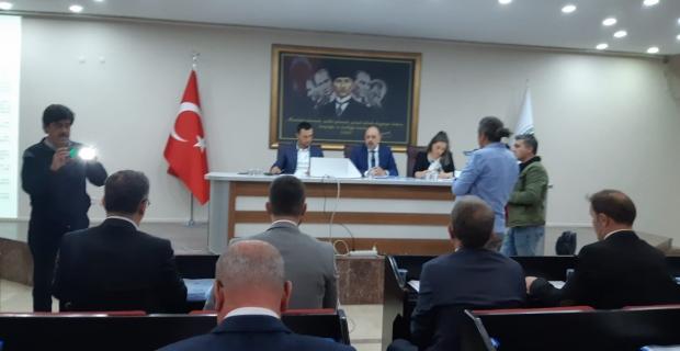 Belediye meclis toplantısı başladı…
