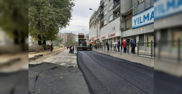 Gazipaşa'da asfalt çalışmaları başladı…