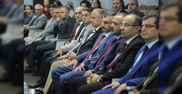 """ZBEÜ'de """"Yüksek Vasıflı Milli Çelik Üretimi ve Ekonomimizdeki Önemi"""" konferans"""