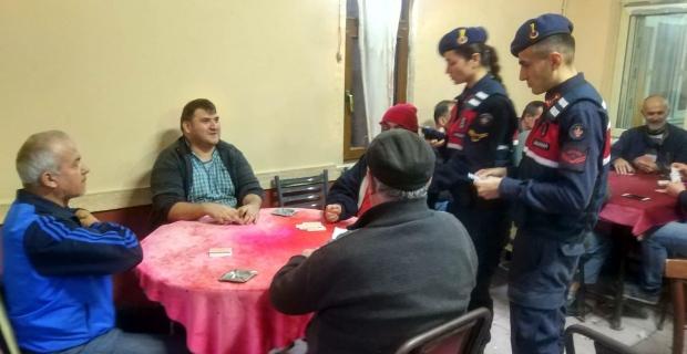 Zonguldak'ta jandarmadan 'Huzur ve Güven' uygulaması