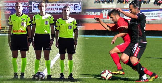 Zonguldakspor 0-2 Hakemler... Ömür Lütfü Aydın ne içtin sen!...