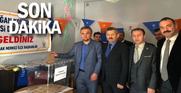 AK Parti'de delege seçimleri başladı...