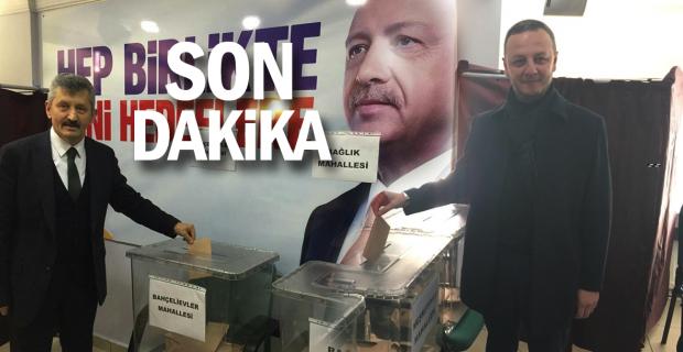 AK Parti'de delege seçimleri tamamlandı...