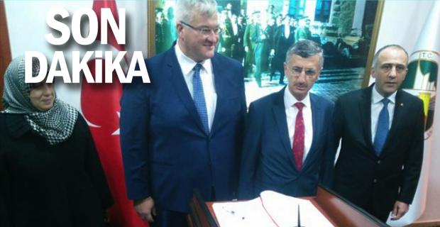 Andrii Sybiha Zonguldak'ta…
