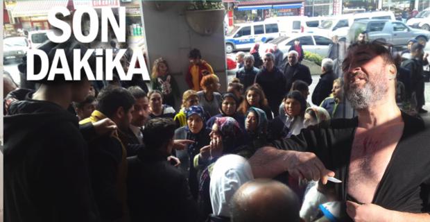 Belediyeye Karton toplayıcıları bastı…