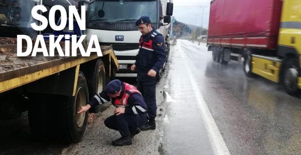 Jandarma'dan Kış lastiği denetimi: Cezalar geliyor
