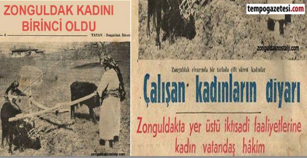 Milli Mücadele Zonguldak Kadınlarından başarı öyküsü