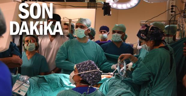 Onlarca doktor laparoskopi ve histereskopi canlı cerrahi operasyonuna katıldı