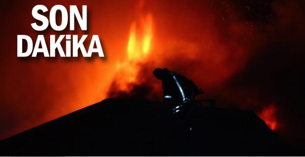 Yangın söndürme çalışmaları aralıksız sürüyor