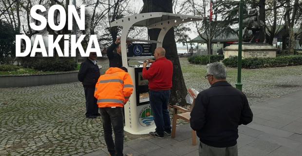Zonguldak Belediyesinden Engellilere hizmet...