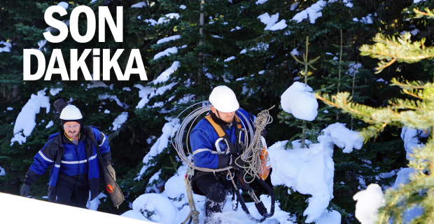 2600 rakımda 1,5 metre karda Başkent EDAŞ ekiplerinin zorlu mücadelesi
