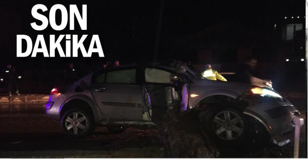 5 aracın karıştığı kazada 2 kişi yaralandı